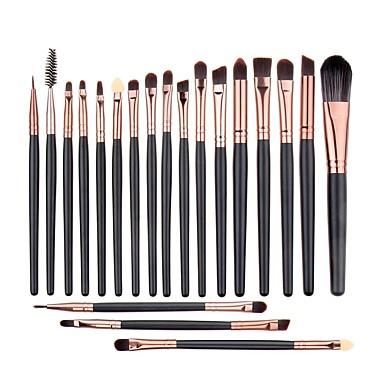 20pcs Makeup Brushes Professional Makeup Brush Set / Blush Brush / Eyeshadow Brush Goat Hair / Pony / Synthetic Hair Classic / Middle