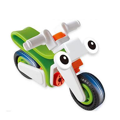 אבני בניין מכוניות צעצוע אופנוע צעצועים אופנועים 20 חתיכות