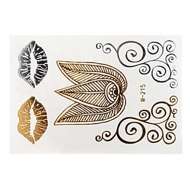 Stencils de Tatuagem Temporária-Feminino Adulto- dePapel--