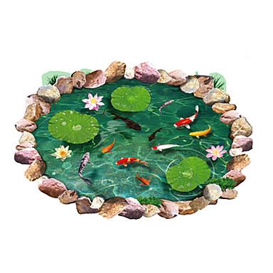 Tiere Stillleben Mode Blumen Botanisch Freizeit 3D Wand-Sticker 3D Wand Sticker Dekorative Wand Sticker, PVC Haus Dekoration Wandtattoo