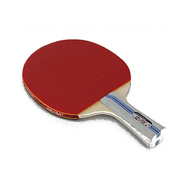 2 Estrelas Raquetes de tênis Ping Pang Borracha Cabo Comprido Espinhas Interior Ao ar Livre
