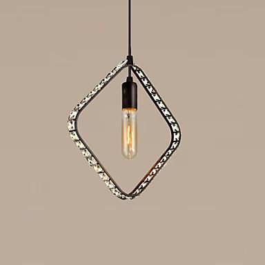 Max 60W וינטאג' קריסטל / סגנון קטן צביעה מתכת מנורות תלויותחדר שינה / חדר אוכל / מטבח / חדר עבודה / משרד / חדר ילדים / כניסה / חדר משחקים