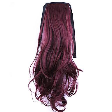 or usine de 50cm de longueur vente directe de type bind prêle friser les cheveux queue de cheval (bug de couleur)