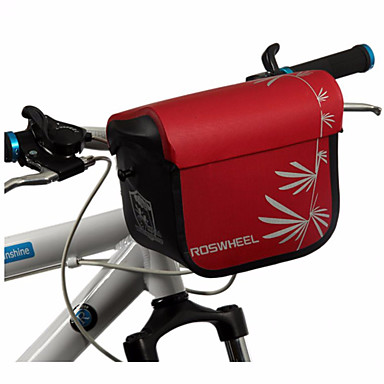 ROSWHEEL® Kerékpáros táska 3LKormánytáska / Válltáska Vízálló cipzár / Párásodás gátló / Ütésálló / Viselhető Kerékpáros táskaTPU / 600 D