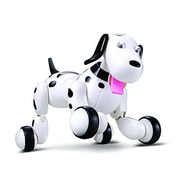 hesapli Oyuncaklar ve Oyunlar-RC Robotu Öğrenme ve Eğitim / Elektronik Evcil Hayvan / Robot köpeği 2.4G Plastik / ABS İleri geri / Dans / Yürüyüş Smart