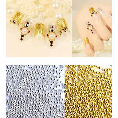 1bag Jóias de unha Glitters Metálico Fashion Alta qualidade Diário