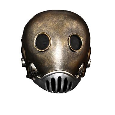 Masque Cosplay Fête / Célébration Déguisement Halloween Noir Couleur Pleine Masque Halloween Féminin / Masculin