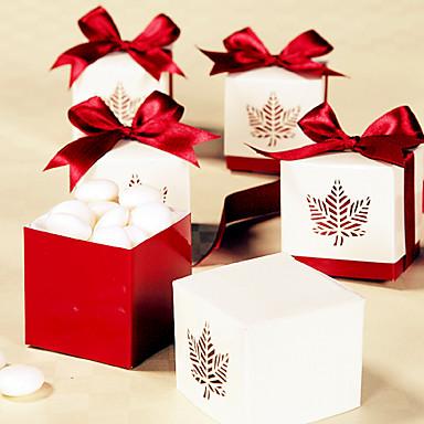 kubisch Kartonpapier Geschenke Halter mit Bänder Geschenkboxen / Geschenktaschen / Geschenk Schachteln