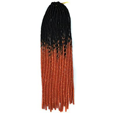 צמות קרוקט 100% שיער קנקלון 1 ראסטות / פו לוקס מנעולי Dread צמות שיער