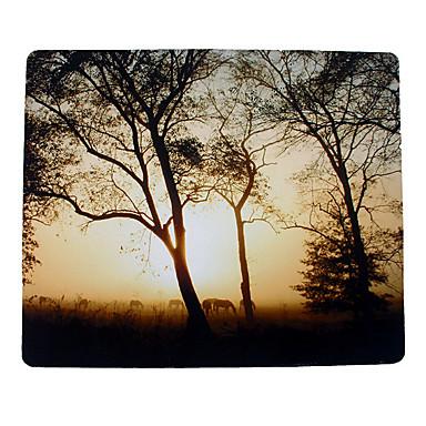 25 * 30 * 0,5 cm Landschaft verdicken Mausunterlage für Desktop / Laptop / Computer