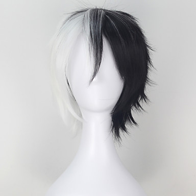 Cosplay Parykker Dangan Ronpa Monokuma Anime Cosplay-parykker 81.28 cm CM Varmeresistent Fiber Herre Halloween-kostymer