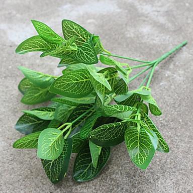 Flores Artificiales 1 Rama Estilo Pastoral Plantas Flor de Suelo