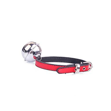 Hund Krave Justerbare / Uttrekkbar Klokke Lilla Gul Rød Blå Rosa