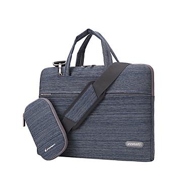 fopati® caso 15 polegadas laptop / saco / manga para Lenovo / mac / samsung marrom / cinza / azul