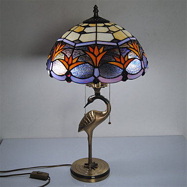 Max 60W Hagyományos/klasszikus / Tiffany / Újdonság Íróasztali lámpa , Funkció mert Szemvédelem , val vel Mások Használat Ki/Be kapcsoló