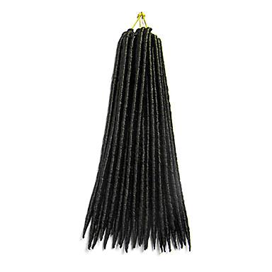 Dreadlocks Tranças de Cabelo Outros 35cm 45cm Cabelo 100% Kanekalon # 30 Azul Burgundy Erro Others Cabelo para Trançar Extensões de cabelo