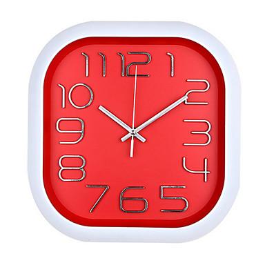 Moderno/Contemporâneo Outros Relógio de parede,Quadrada Relógio