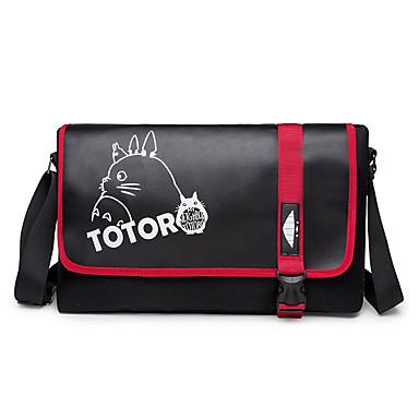 Tasche Inspiriert von Mein Nachbar Totoro Katze Anime Cosplay Accessoires Tasche Schwarz  Leinwand Mann / Frau