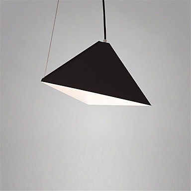 Lampe suspendue ,  Rétro Peintures Fonctionnalité for Style mini MétalSalle de séjour Chambre à coucher Salle à manger Cuisine