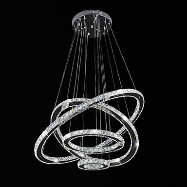 Модерн Подвесные лампы Рассеянное освещение - Хрусталь LED, 110-120Вольт 220-240Вольт, Холодный белый, Светодиодный источник света в
