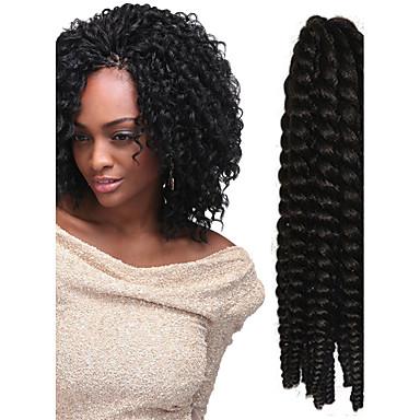 12-24 Zoll Häkeln Geflecht havanna mambo afro Twist Haarverlängerung 4 #