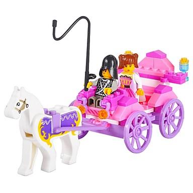 Blocs de Construction / Puzzle Toy / jouet éducatif Pour cadeau Blocs de Construction ABS Au-dessus de 6 Rose Jouets