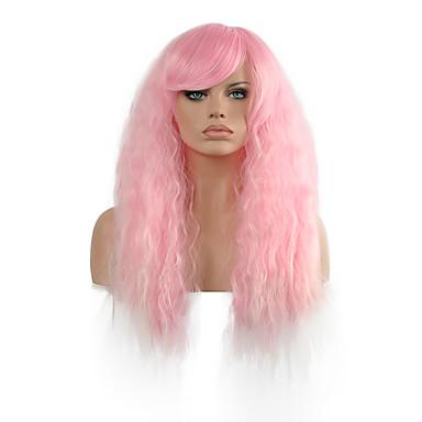Synthetische Perücken / Perücken Glatt Synthetische Haare Perücke Damen Lang Kappenlos