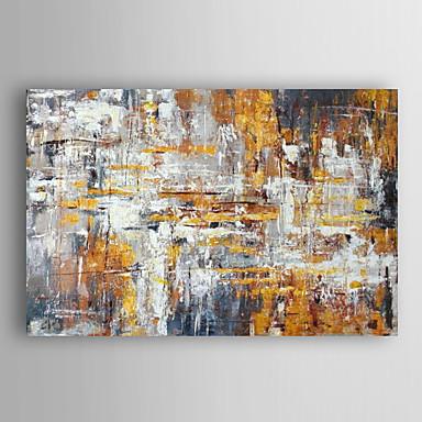 pintados à mão pintura a óleo Gotemburgo abstrato com esticada quadro arts® 7 parede