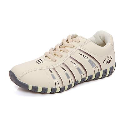 Sneakers-Mikrofiber-Komfort-DamerUdendørs Fritid Sport-Flad hæl