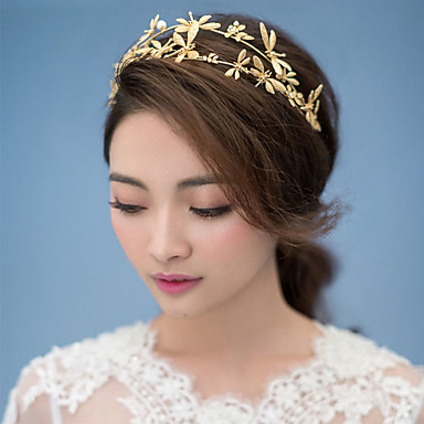 נשים סגסוגת בד כיסוי ראש-חתונה אירוע מיוחד סרטי ראש חלק 1