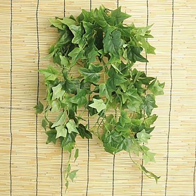 1 Une succursale Soie Plantes Guirlande et Fleur Murale Fleurs artificielles