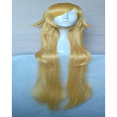 3 Colors New Stylish  Cosplay Wig Synthetic Hair Wigs Long Loose Wavy  Animated Wigs Party Wigs