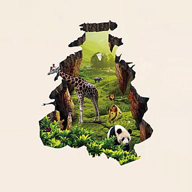 Wandtattoo Dekorative Wand Sticker - 3D Wand Sticker Abstrakt Landschaft Tiere Romantik Mode Geschichte 3D Feiertage Cartoon Design