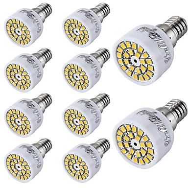 2W 150-200 lm E14 LED Spot Lampen T 24 Leds SMD 2835 Dekorativ Warmes Weiß Kühles Weiß Wechselstrom 220-240V