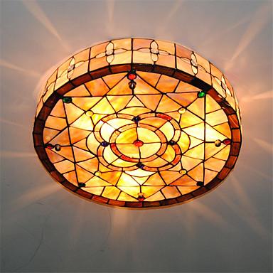 3-Light Takplafond Omgivelseslys - Mini Stil, 110-120V / 220-240V Pære ikke Inkludert / 15-20㎡ / E26 / E27