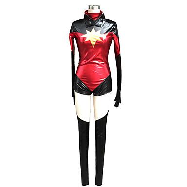 Inspiriert von Cosplay Sice Anime Cosplay Kostüme Cosplay Kostüme einfarbig Langarm Gymnastikanzug Maske Beinschützer Für Frau