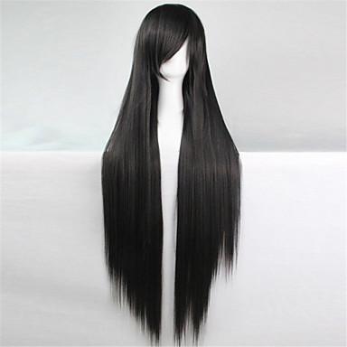 Szintetikus parókák Egyenes Göndör egyenes Sapka nélküli Szintetikus haj
