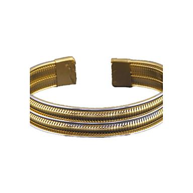 Armbänder Armreife Aleación / Kupfer / vergoldet Hochzeit / Party / Alltag / Normal Schmuck Geschenk Goldfarben,1 Stück