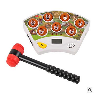 trägt elektrische Musik Whack-a-Mole Spiel Bildungs-Spielzeug für Kinder