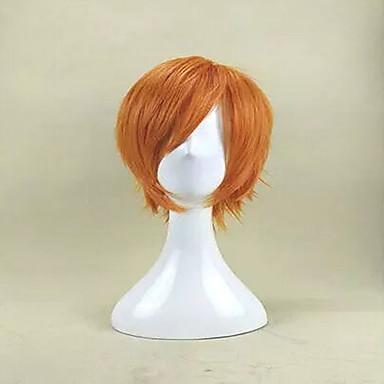 Synthetische Perücken Locken Damen Kappenlos Synthetische Haare