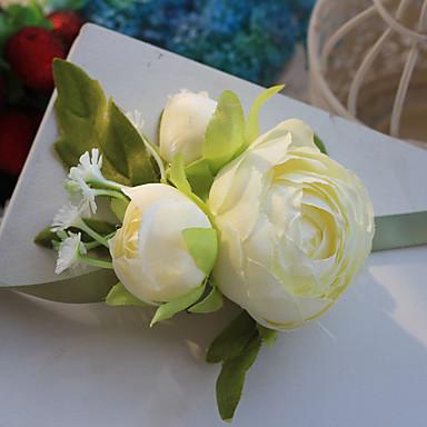 Hochzeitsblumen Freigeformt Rosen Armbandblume Hochzeit Partei / Abend Polyester Satin