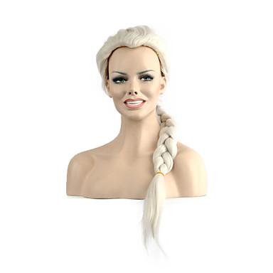 Cheveux Synthétiques Perruques Ondulé Sans bonnet Long