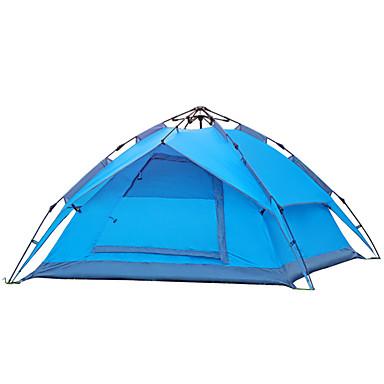 YUNYI® 3-4 personer Telt camping Tent Hold Varm Vanntett Vindtett Støvtett Pusteevne til CM Ett Rom