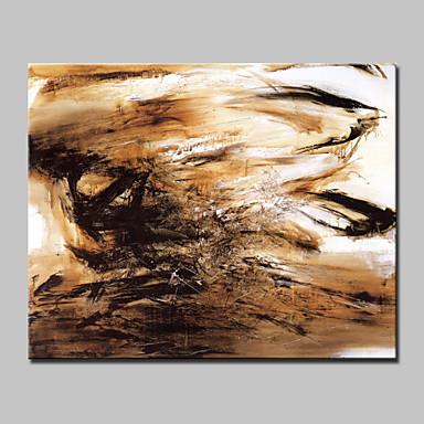 store håndmalt abstrakt fantasi moderne oljemaleri på lerret ett panel med ramme klar til å henge