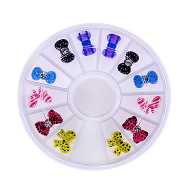 mote kvinner vakre bow nail art rhinestones dekorasjon for uv gel telefon bærbare DIY spiker verktøy
