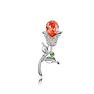 cristal Broche fleur de haute qualité pour la dame de fête de mariage