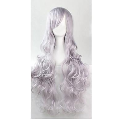 Парики из искусственных волос Кудрявый Жен. Без шапочки-основы Искусственные волосы