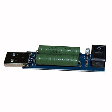 USB5V-2a / 1a 10w Entladung Alterungsbeständigkeit Stromerfassungsbelastungstest