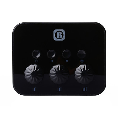 trådløs bluetooth 3,5 mm aux audio stereo musik hjem bil receiver adapter