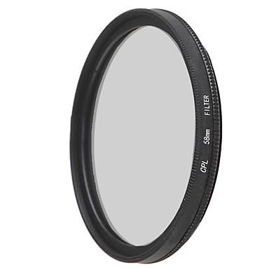 emoblitz 58 milímetros CPL lente filtro polarizador circular